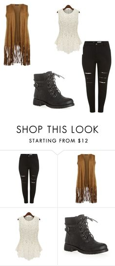 """""""Girl Gunge"""" by alyssapelster on Polyvore featuring Avenue and plus size clothing"""