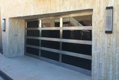 Metal & Glass Garage Doors - Modern - Garage And Shed - Orange County - Ziegler Doors Inc.