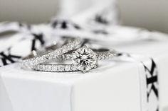 Diamond engagement ring with matching diamond wedding bands by Kalfin Jewellery #kalfinjewellery #diamonds #diamondringsmelbourne #engagementringsmelbourne #diamondjewellery #love #beauty #cool #wholesalejewellers #designerjeweller #custommaderings #diamondweddingbands #cbdjewellers #Melbourne #wedding #bride #dress #couture #luxury www.kalfin.com.au
