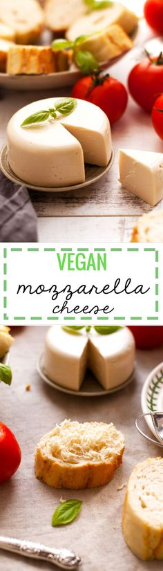 this looks delicious. Delicious alternative to cheese, great as a pizza topping or grilled on toast. You are going to love it! Recipes With Mozzarella Cheese, Vegan Cheese Recipes, Best Vegan Recipes, Vegan Foods, Dairy Free Recipes, Whole Food Recipes, Vegetarian Recipes, Cooking Recipes, Paleo Diet