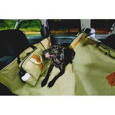 Keep the dog in the back seat and protect your backseat upholstery. The hammock functions as a car dog gate AND as a dog car seat cover. No matter how much you love your dog, no one wants to have dog hair and mud all over the backseat of the car. Dog Car Barrier, Dog Hammock For Car, Hammock Stand, Pet Seat Covers, Dog Car Seats, Dog Seat, Dog Safety, Dog Id, Pet Travel