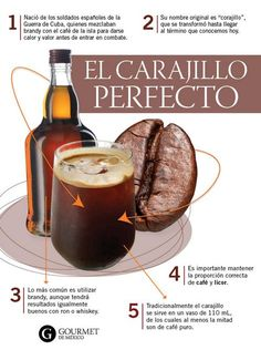 Bar Drinks, Wine Drinks, Cocktail Drinks, Alcoholic Drinks, Drinks Alcohol Recipes, Wine Recipes, Mexican Food Recipes, Cooking Recipes, Coffee Wine