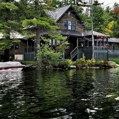 Vermont Lake House smith-vansant-architects .... Seriously love this place!