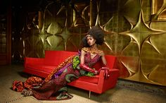 "African Prints in Fashion: Just Splendid: The new Vlisco collection ""Splendeur"""
