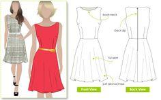 Style Arc I Anthea Dress Pattern