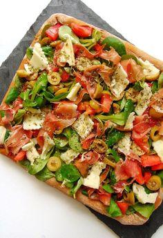 pizza con harina de espelta integral - ideas para pizzas originales