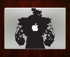Street fighter akuma Macbook Pro / Air 13 Decal Stickers