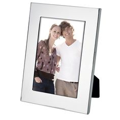 x Beveled Edge Photo Frame Description Polished Aluminium Rounded Bevel Inner Edge Felt Backing Easel Back For Horizontal Or Vertical Display Holds x Photo Gadget Gifts, Corporate Gifts, Easel, Frames, Felt, Display, Flip Charts, Floor Space, Felting