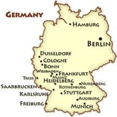 USSREast Germany Flag Maps Pinterest East Germany - Germany map grafenwoehr