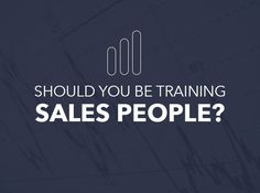In a recent study from the Sales Management Association, research found that sales training is best if not focused towards sales reps at all, but towards their managers.