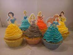 Resultado de imagem para disney cupcake toppers