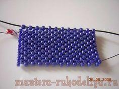 Интересные вещицы handmade - Мастер-класс по бисероплетению: Мозаичное плетение - набор начальных рядов