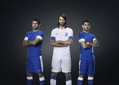 Greek national team head to the pitch in new Nike kit