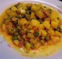 Guisantes a la extremeña - Cocina extremeña. Gastronomía de Extremadura - RedExtremadura.com