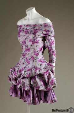 Dress Christian LaCroix, 1988 The Museum at FIT