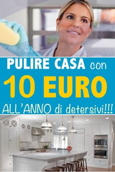 Pulire la casa con solo 10 euro all Ideas Para Organizar, Desperate Housewives, Plate, Natural Cleaning Products, Home Made Soap, Soap Making, Organization Hacks, Clean House, Housekeeping