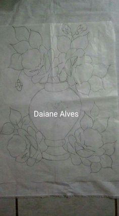 Applique Templates, Arte Popular, Fabric Painting, Flower Patterns, Decoupage, Stencils, Diy And Crafts, Embroidery, Rose