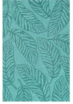 How To Decorate Your Outdoor Patio Tropical Banana Leaf Turquoise Rug