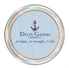C2100 - Delta Gamma Coaster $24.00 #DeltaGamma