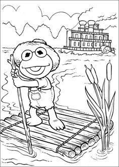 Coloriage Dessins. Muppets 34