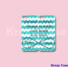 Infinity Best Friends iPhone 5c case iPhone 5c by KrezyCase on Etsy, $26.99