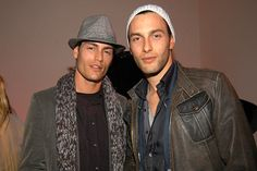 At the Versace V.I.P. Dinner with Tyson Ballou, February 7, 2006.