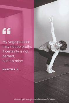 I love this personal testimony.  What an inspiring journey. #yoga #poweryoga #fitness #health #quote