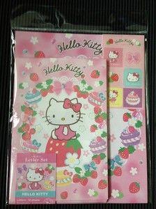 Sanrio Hello Kitty Letter Set #1 - Japan Stationery