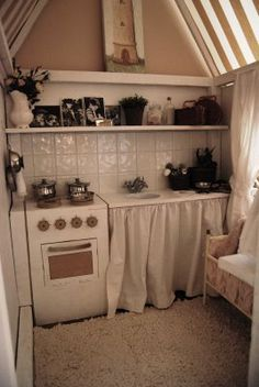 1000 ideas about playhouse interior on pinterest for Playhouse kitchen ideas