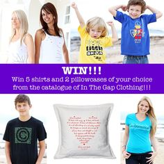 Win!!! Giveaway with In The Gap Clothing