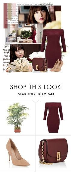 """""""Anastasia Steele - Fifty Shades Darker"""" by iced ❤ liked on Polyvore featuring Miss Selfridge, Lipsy, Marc Jacobs, Tag and Chanel"""