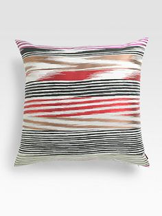 Missoni - Nantes Embroidered Pillow - Saks.com