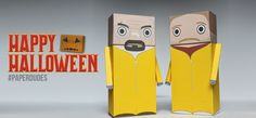 Breaking Bad Paper Dude Papercrafts