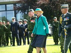 COL M. Bech, Her Majesty and the Queens Aid