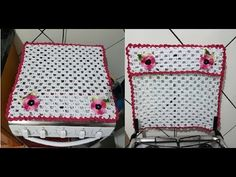 Crochet For Beginners, Crochet Designs, Pot Holders, Diy And Crafts, Lunch Box, Youtube, Kitchen Playsets, Kitchen Kit, Crochet Mickey Mouse