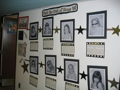 hollywood classroom theme | Outside of our classroom, we posted the times that our movies would be ...