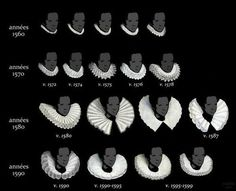 The Evolution of the Ruff, 1560s-1590s