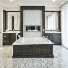 WEBSTA @ velvetmusings - Bathroom of my dreams!! Found on Pinterest #home #homedecor #decor #decoracao #details #luxuryhomes #staging #classy #opulence #light #luxe #luxurylisting #interiorlover #interiordesign #design #decorating