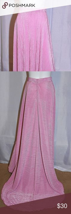 Pink Pleated with Train Skirt. Lisa Nieves 17d01ea4857bc