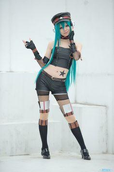 Miku #cosplay