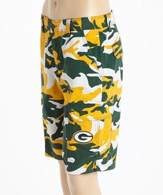 Loving this Green Bay Packers Camo Shorts - Men on #zulily! #zulilyfinds
