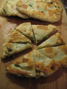Green Onion Cakes! Thank you Domestic Bliss for sharing the recipe! I loved these cakes at the Fringe Festival in Edmonton, and it's so sad that they can't be found anywhere outside Alberta.