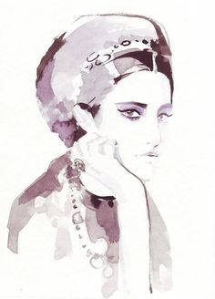 Ioana Avram Fashion illustrations