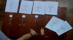 ATENCIÓN Y CONCENTRACIÓN: Muñecos de palitos