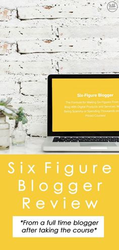 Monetizing Your Blog: Six Figure Blogger Review #makemoneyonline #blogging #bloggingtips #makemoney #sixfigureblogger #nataliebacon Make More Money, Make Money Blogging, Make Money From Home, Make Money Online, Saving Money, Email Subject Lines, Online Work From Home, Blog Topics, Blogging For Beginners