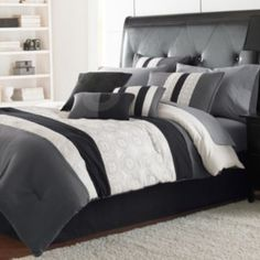 Elsa 7-pc. Comforter Set (I like the headboard too)