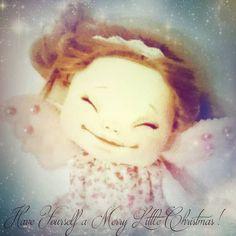 Happy Holidays! Ihanaa joulua kaikille!  #käsintehty #joulu #handmadebiz #dollmakersofinstagram #christmas Textiles, Hand Painted, Instagram Posts, Handmade, Painting, Art, Dolls Dolls, Art Background, Hand Made