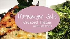 Himalayan Salt Crusted Tilapia with Kale Chips - https://saltsworldwide.com/blog/himalayan-salt-crusted-tilapia-with-kale-chips/  Himalayan salt is pink in color and revered worldwide for its healthy properties. This Kosher sea salt is from Pakistan and contains 80 elements and minerals that promote health such as borate, calcium, magnesium, potassium, and sulphate. It is commonly used in both sweet and savory dishes and... #Salt #Seasalt