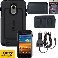 Otterbox Commuter Case for Sprint Samsung Galaxy S2 Epic 4g Touch D710 & R760 Black, Leather Horizontal Case that fits your phone with the Otterbox on it, Heavy Duty Car Charger & Anti Radiation Shield by Newyorkcellphone, http://www.amazon.com/dp/B0083J4YKW/ref=cm_sw_r_pi_dp_0MGLqb1R4SH0J