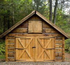 log cabin homes are not exactly a cottage but ........ just as charming!